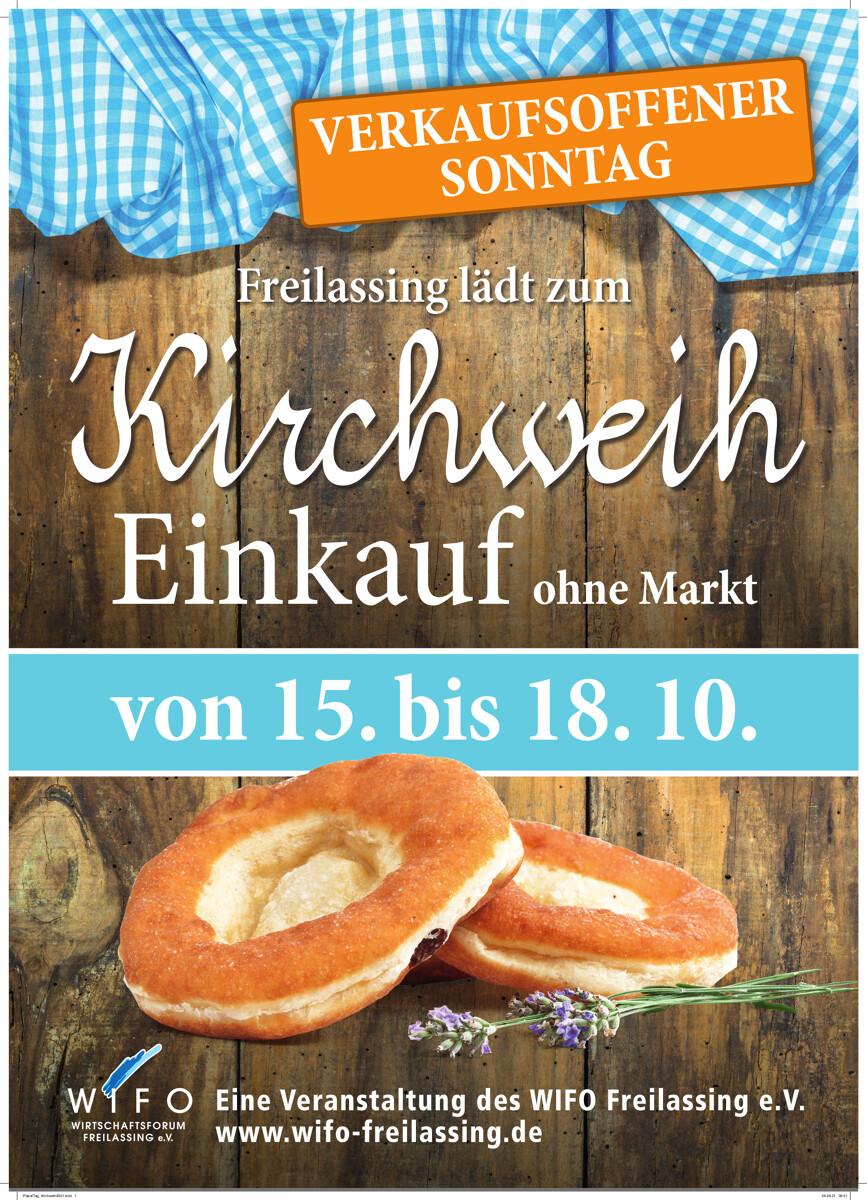 Kirchweih-Einkauf in Freilassing - mit verkaufsoffenem Sonntag
