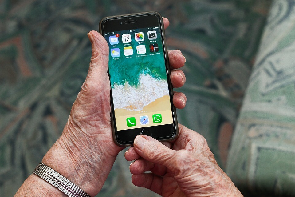 Smartphone-Sprechstunde für Senioren