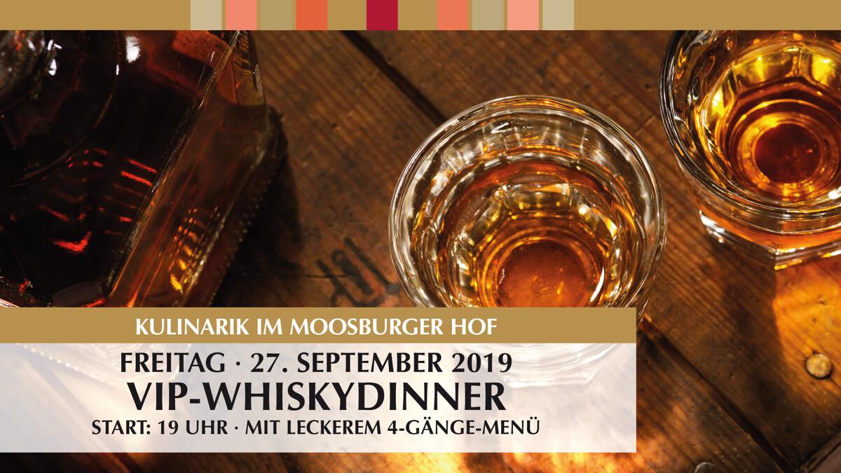 VIP Whisky-Dinner
