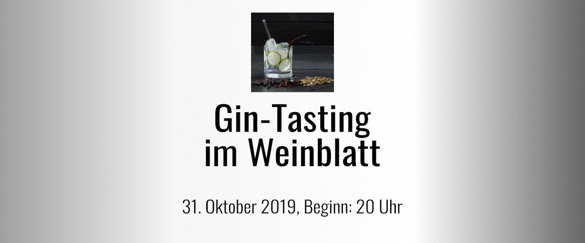 Gin-Tasting - leider schon ausverkauft