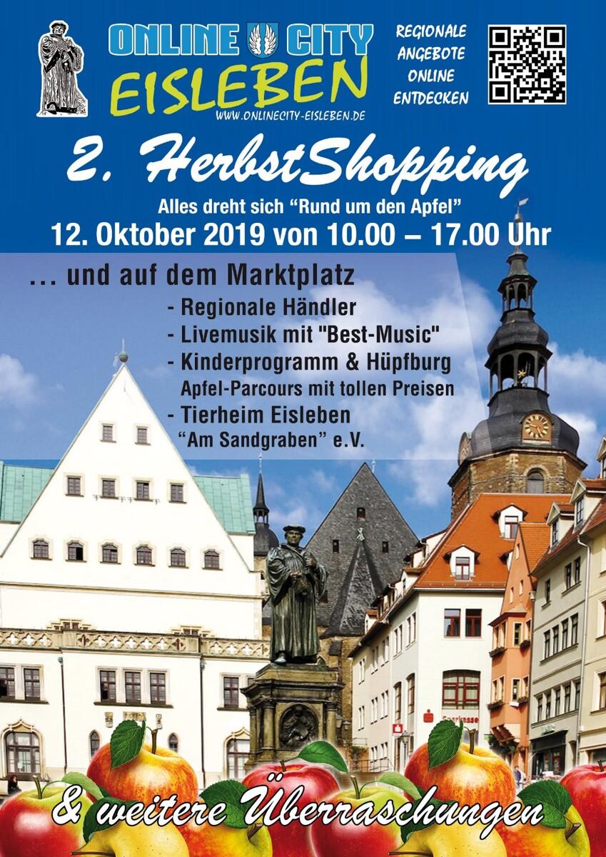 2. Eisleber Herbst Shopping