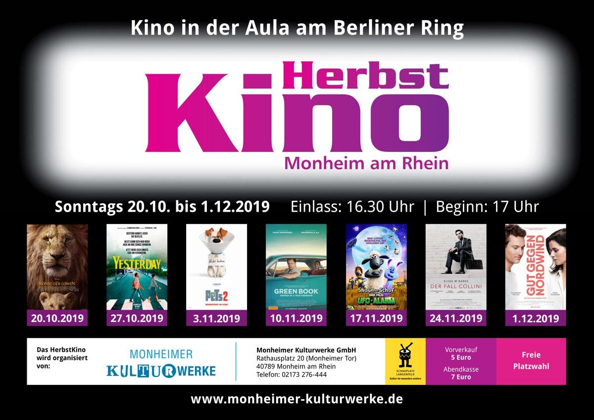"""""""Green Book"""" im Herbstkino Monheim am Rhein"""