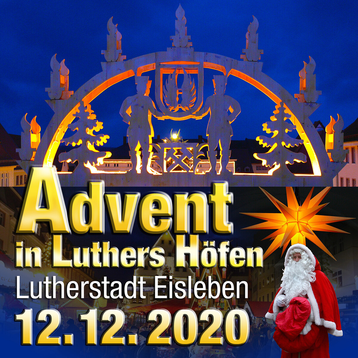 Advent in Luthers Höfen