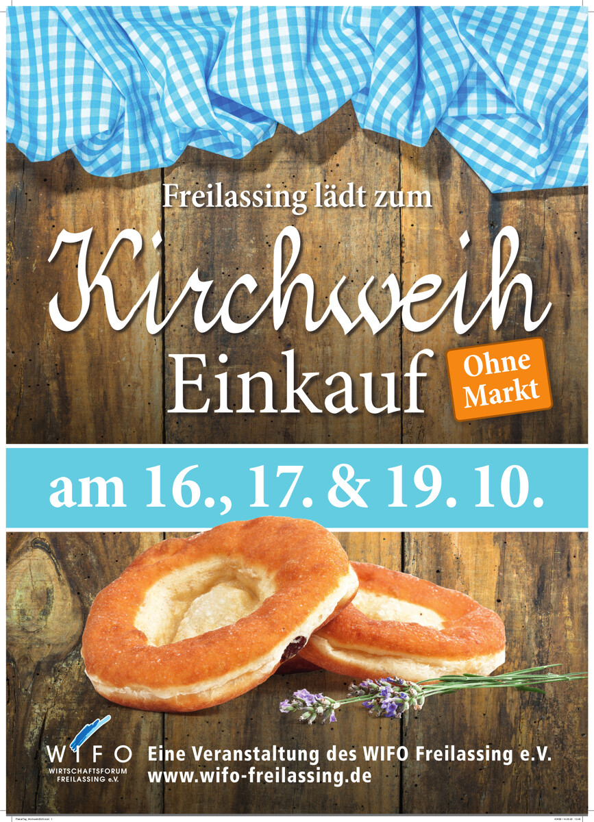 Kirchweih-Einkauf