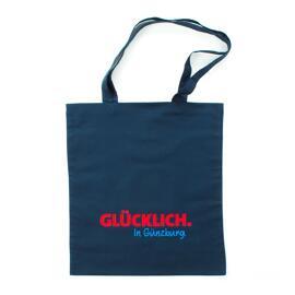 Günzburg Einkaufstaschen GLÜCKLICH. In Günzburg.