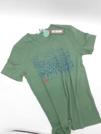Fairtrade Rundhals-T-Shirts Greenbomb