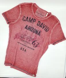Rundhals-T-Shirts Camp David