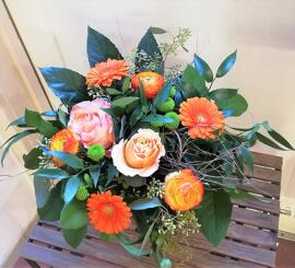 Blumen Muttertag Rose, Gerbara, Ranunkel