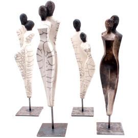Figuren, Skulpturen & Statuen Edeltrude M. Arleitner Keramik