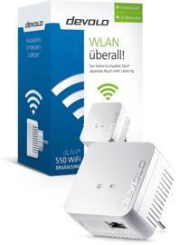 Netzwerktechnik DEVOLO  DLAN 550 WIFI POWERLINE