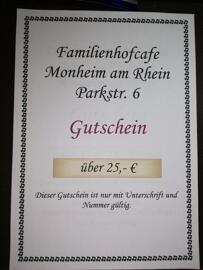 Gastronomie Getränke & Co. Familienhofcafe