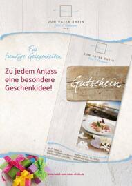 Geschenkanlässe Frühstück Gutscheine Zum Vater Rhein