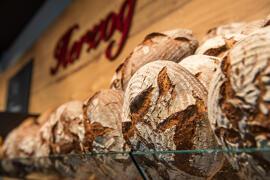 Brot & Brötchen Krustenbrot, Frühlingsbrot, UrDinkel-Butter-Toast