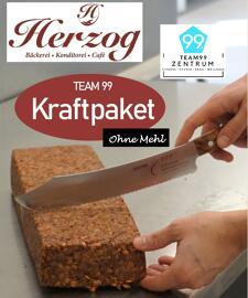 Brot & Brötchen TEAM99 Kraftpaket, Brot ohne Mehl