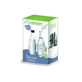 Haushaltsgeräte-Zubehör Soda Stream GLASKARAFFE DUOPACK