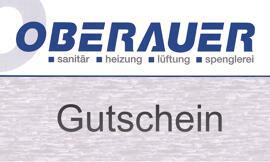 Bauen Geschenkgutscheine Oberauer GmbH