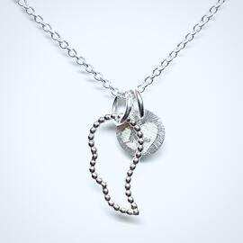 Halsketten Glück Schutzengelsflügel
