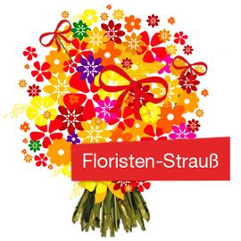 Blumen Handgebundener Floristenstrauß