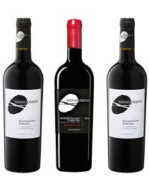 Rotwein Abruzzen sassopiano