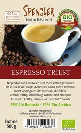Kaffee Lebensmittel Spengler NaturRösterei Bio Kaffeerösterei