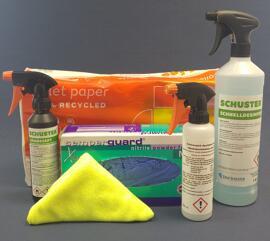 Körperhygiene Hygienepaket und Desinfektion