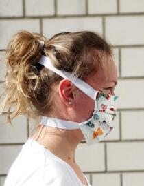 Handmade Bekleidung & Accessoires Behelfsmasken Maskono