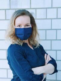 Handmade Bekleidung Behelfsmasken Maskono