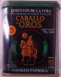 Paprikapulver Caballo de Oros