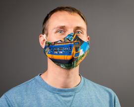 Lokales Bekleidungsaccessoires Wuppertal-Maske