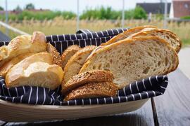 Brot & Brötchen Baguette, Tessiner Landbrot, Dinkelbaguette