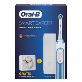 Zahnbürsten Braun Oral-B Smart Expert Special Design Edition mit Braun Wecker
