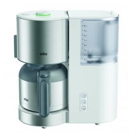 Filterkaffeemaschinen Braun IDCollection Kaffeemaschine KF 5105, weiß/Edelstahl