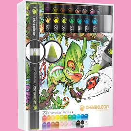Zeichen- & Malsets Chameleon Art Products