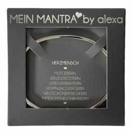 Geschenkanlässe Armreifen MEIN MANTRA by alexa