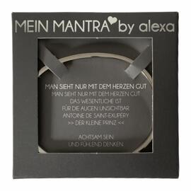 Geschenke & Anlässe Armreifen MEIN MANTRA by alexa