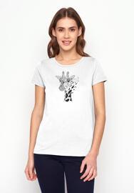 Fairtrade Rundhals-T-Shirts Greenbomb