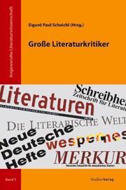 Literaturwissenschaften