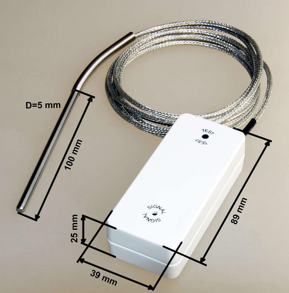 BROKO Funk Temperatursensor BL220TEMP // Temperaturüberwachung // Temperatur SG