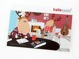 Postkarten Stadtmarketing Halle (Saale) GmbH