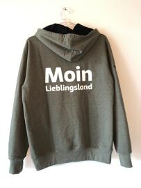 Kapuzenshirts Moin Lieblingsland, Trigema