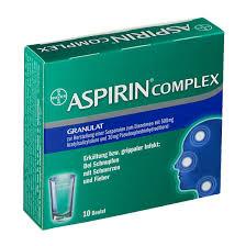 Gesundheit & Schönheit Aspirin