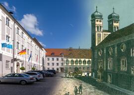 """Postkarten Günzburg """"Bürger forschen"""""""