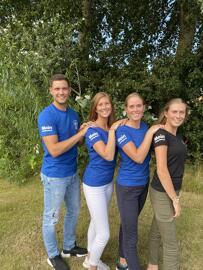 Rundhals-T-Shirts Moin Lieblingsland, StanleyStella