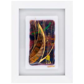 Poster & Bildende Kunst Flora Plank Glas