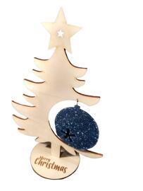 Weihnachtsschmuck-Displays Design by BT´s Art Lasergravur