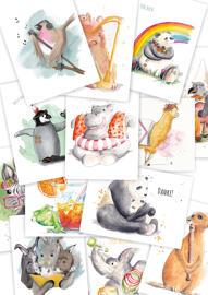 Postkarten kunstundkegel
