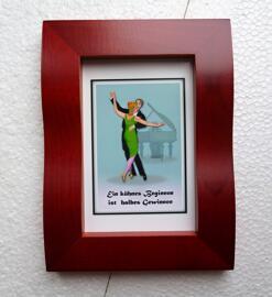 Valentinstag Geburtstag Weihnachten Gemälde & Bilder Tanzpaarmotivbilder