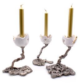 Kerzenständer Lisbeth und Rudi Rehrl