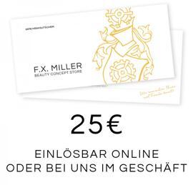 Gutscheine F.X. Miller Made in Regensburg