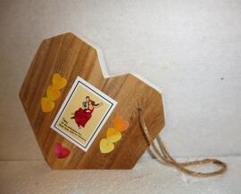 Valentinstag Dekoration Deko-Gegenstände mit Tanzpaarmotiv